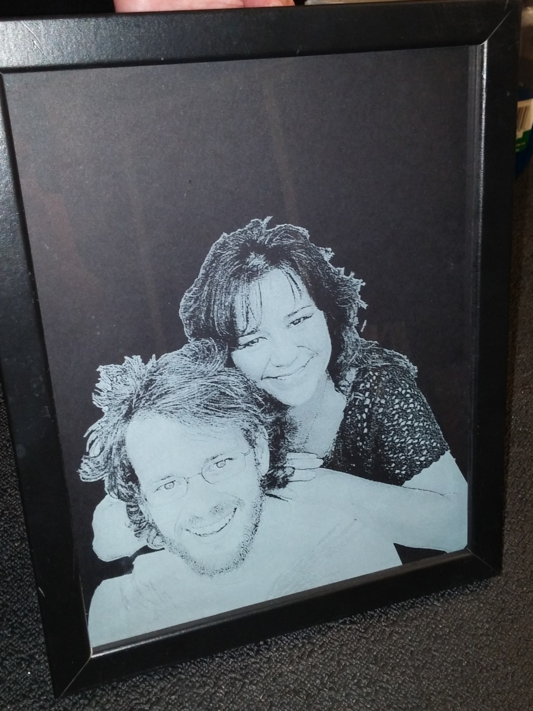 Photo Gifts Gallery Lasered Engrave Detail